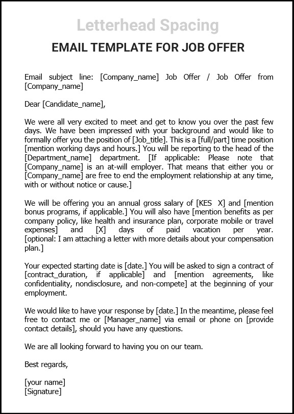 Job-offer-email